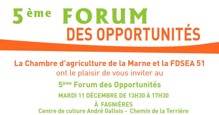 forum opportunité marne